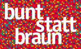 Logo Bunt statt Braun