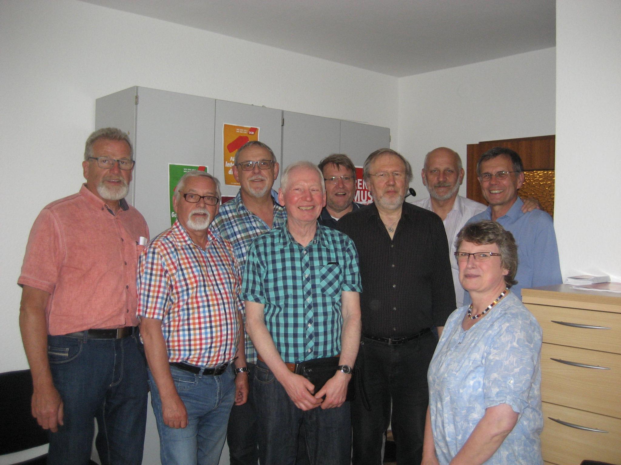 Gewerkschafter und Verbündete feiern 20 Jahre Servicebüro