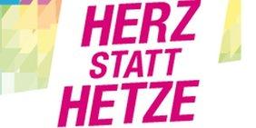 Logo Herz statt Hetze