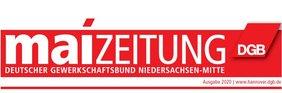 Logo der Maizeitung 2020