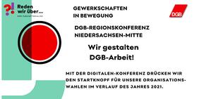 Text und Logo der Einladung zur Regionskonferenz