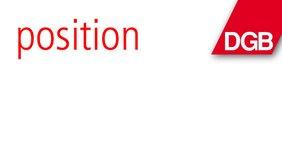 Text Position und DGB-Raute
