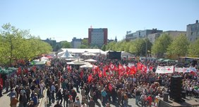 DGB-Kundgebung zum 1. Mai 2011