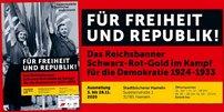 Logo der Ausstellung der Gedenkstätte Deutscher Widerstand über den Kampf für die Demokratie 1924-1933