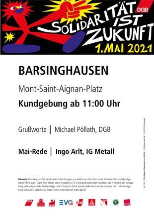 1. Mai 2021 in Barsinghausen