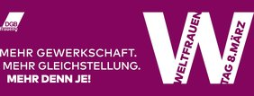Logo DGB Frauentag 2021