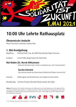 1. Mai 2021 in Lehrte