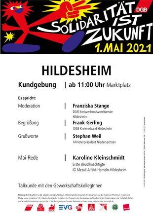 1. Mai 2021 in Hildesheim
