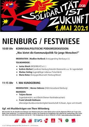 1. Mai 2021 in Nienburg