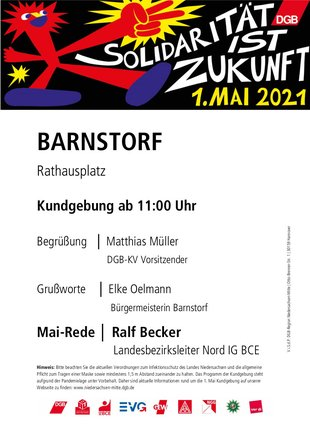 1. Mai 2021 in Barnstorf