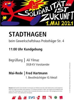 1. Mai 2021 in Stadthagen