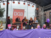 Bühne v.l.n.r. Jana Sündermann, Torsten Hannig, Nicola Lopopolo, Imke Hennemann-Kreikenbohm, Nicole Bremer