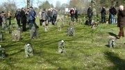 Gräberfeld auf dem Nordfriedhof