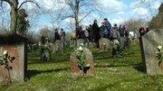 Gräberfeld der Zwangsarbeiter auf dem Nordfriedhof